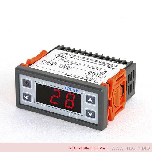 mbsm-dot-pro-wwwmbsmpro--contrleur-de-temprature-numrique--thermolectrique--pour-systme-frigorifique-ou-couveuse-stc200--stc1000