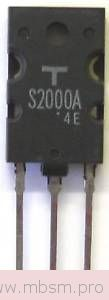 wwwmbsmpro---s2000--silicon-npn-transistor--bipolar-transistors-data-tables-mbsm-dot-pro