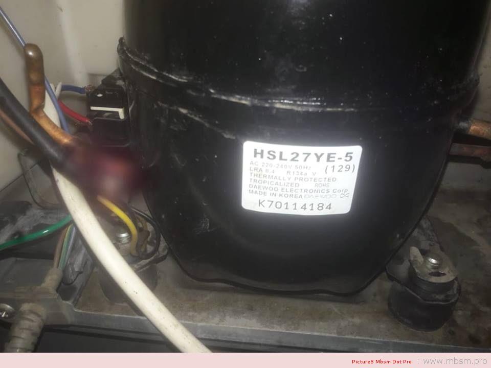 mbsm-dot-pro-mbsmpro-daewoo-compressor--hsl27ye5-13-hp--1ph--r134a-220240v-50hzpuissance-frigorifique-244-w-833-btu--h