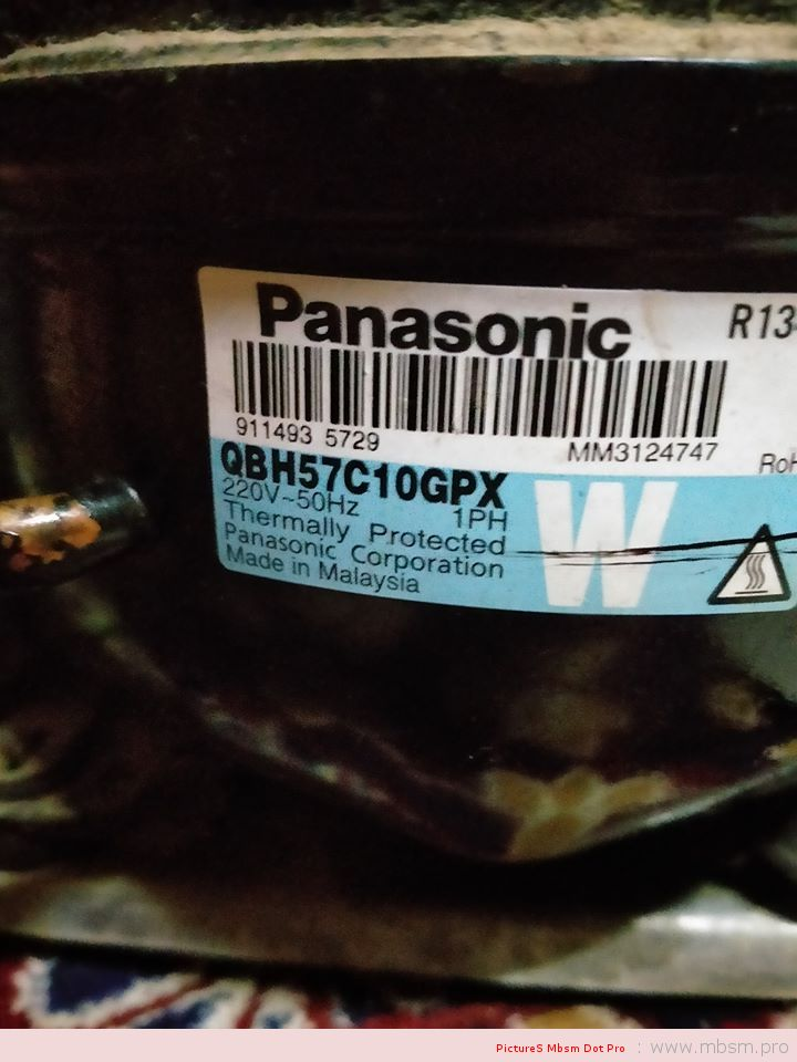 qbh57c10gpx-16hp-rsir--reciprocating-fixed-speed--compressors-r134a-lbp-panasonic-small-refrigerator-mbsm-dot-pro