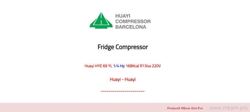 huayi-compressor--hye55yl63-16-hp--129kcal-r134a-220v-lbp-mbsm-dot-pro