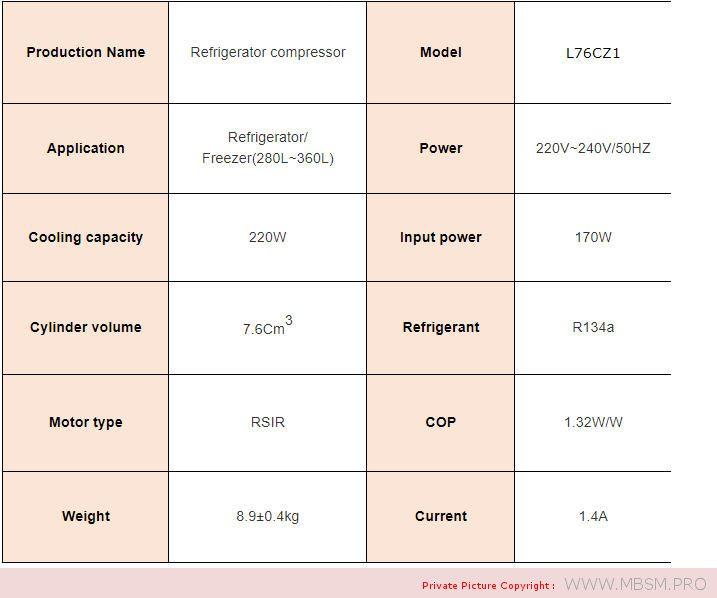 l76cz1-donper-r134a-220w-220240v5060hz-1phase-14-hp-big--13hp-compressor-hermetic-refrigerator-rsir-mbsm-dot-pro