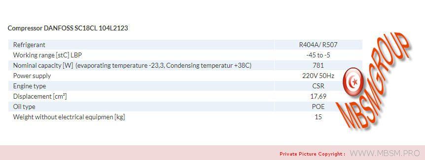 compressor-danfoss--2123-104lcoolant-r404ar507sc18cl-220240v-50hz-lbpmbp-csrhermetic-137kg-58hp-big781w-mbsm-dot-pro