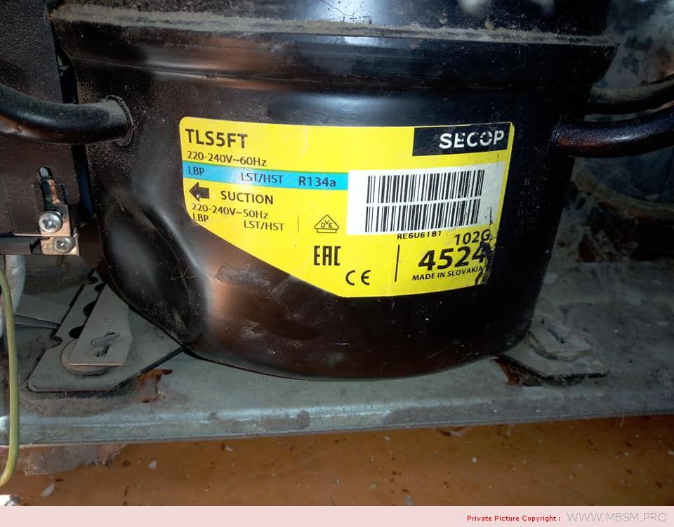 tropical-compressor-tls5ft-102g4524--secop--r134a--16-hp--134-w--lbp--220-240-v-50hz-mbsm-dot-pro