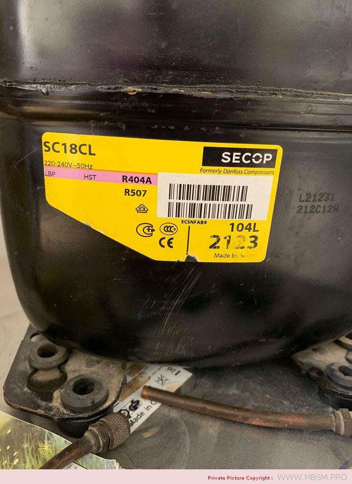 compressor-coolant--104l2123compresseur-danfoss-sc18cl--r404a-r449a-r407a-r452ar404ar507--sc18cl-220240v-50hz-lbpmbp-58hp---csrlra-20a-325a--715w-mbsm-dot-pro