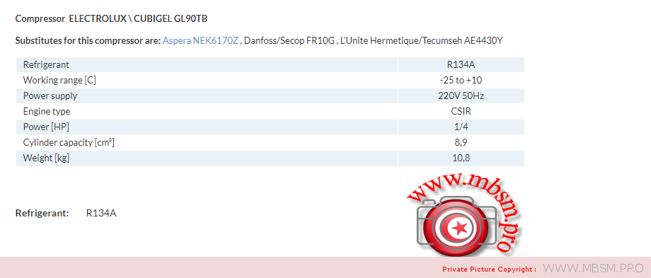 electrolux-cubigel-compresseur-gl90tb-r134a-1--4hp-big-230v-rscr-hmbp-mbsm-dot-pro