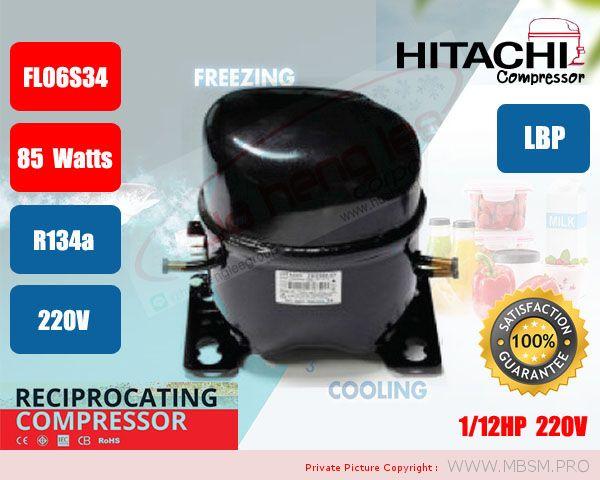 r134a-hitachi-compressorr012series-fl06s34tab-fl0739sq-fl0847sd-fl1152sb-fl1257sr-fl14s62tad-fl1568sq-fl20s88tac-fl1888se-cl0545sz-cl1297sa-cl1310sa-cl1588dz-cl1610dl-mbsm-dot-pro