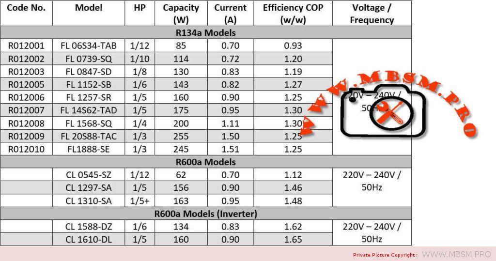 compressor-hitachi-r134a-srie-r012-fl1462sa-hitachi-brand--made-in-thailand-15-hp-160w-fl-0739--90-watts-fl-0847--105-watts-fl-1152--125-watts-fl-1257--150-watts-fl-1462--165-watts-fl-1675--185-watts-fl-1888--210-watts-fl-2088--250-watts-mbsm-dot-pro