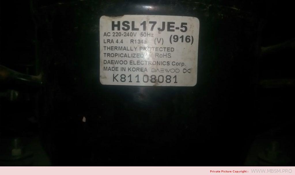 daewoo--hsl11y5---compresseur-hermtique-r134a-93w-rsir--18hp-mbsm-dot-pro