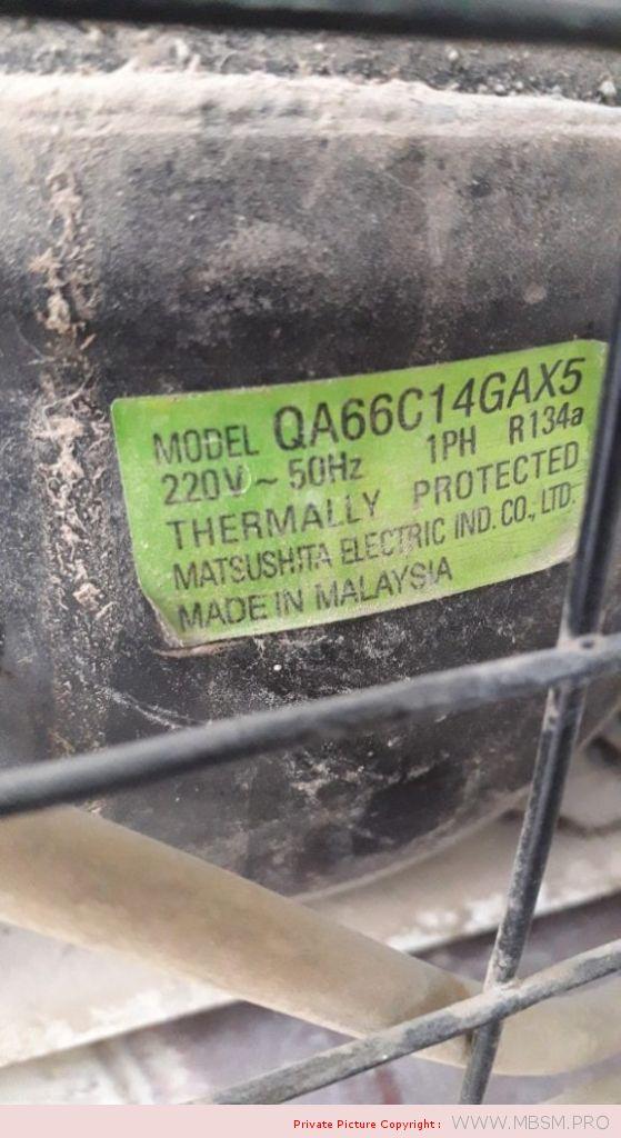 reciprocating-compressors-q-series-reciprocating-fixed-speed-r134a-100g--lbp-qa66c14gax5-rsir-145w-15hp-170l-mbsm-dot-pro