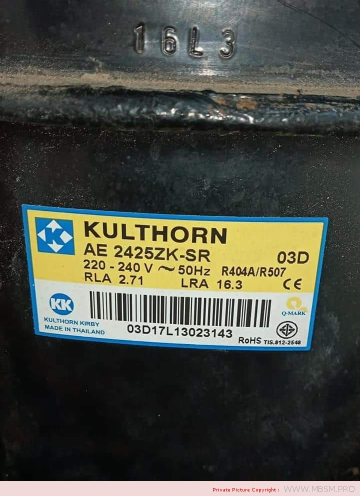 kulthorn-kirby-compressor-ae2425zk-ae-2425zksr-r404-12hp-hermetic-piston-compressor-ae2425zksr-application-low-temperature-displacement-1414-cm3--cooling-capacity-613-w-220-v--50-hz--1-phase-mbsm-dot-pro
